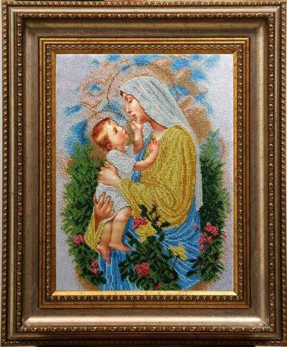 Канва для вишивання бісером на релігійну тематику - Канва для вишивання бісером на релігійну тематику - Діва Марія Розарію