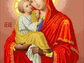 Канва для вишивання бісером на релігійну тематику - Почаївська Богородиця