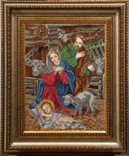 Канва для вишивання бісером на релігійну тематику - Різдво Христове