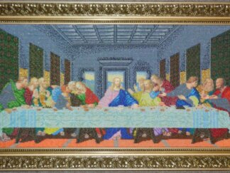 Канва для вишивання бісером на релігійну тематику - Тайна Вечеря