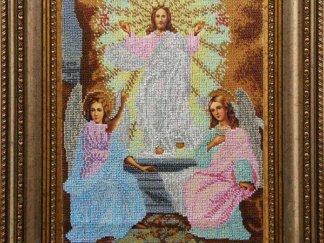 Канва для вишивання бісером на релігійну тематику - Воскресіння Господнє