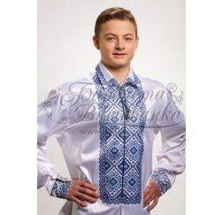 Заготовка чоловічої сорочки – вишиванки для вишивки бісером і нитками Барвиста Вишиванка СЧ002