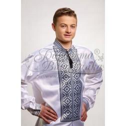 Заготовка чоловічої сорочки – вишиванки для вишивки бісером і нитками Барвиста Вишиванка СЧ006
