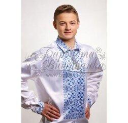 Заготовка чоловічої сорочки – вишиванки для вишивки бісером і нитками Барвиста Вишиванка СЧ007