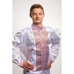 Заготовка чоловічої сорочки – вишиванки для вишивки бісером і нитками Барвиста Вишиванка СЧ009