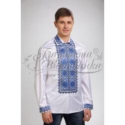 Заготовка чоловічої сорочки – вишиванки для вишивки бісером і нитками Барвиста Вишиванка СЧ024
