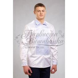 Заготовка чоловічої сорочки – вишиванки для вишивки бісером і нитками Барвиста Вишиванка СЧ027