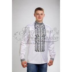 Заготовка чоловічої сорочки – вишиванки для вишивки бісером і нитками Барвиста Вишиванка СЧ028