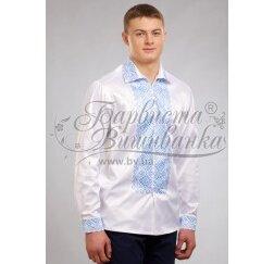 Заготовка чоловічої сорочки – вишиванки для вишивки бісером і нитками Барвиста Вишиванка СЧ032