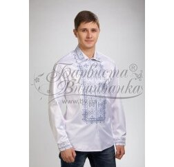 Заготовка чоловічої сорочки – вишиванки для вишивки бісером і нитками Барвиста Вишиванка СЧ023