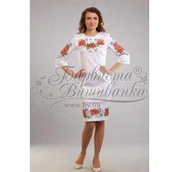 ТМ Барвиста Вишиванка, жіноче плаття ПЛ-1