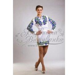 Заготовка для вишивання нитками або бісером жіночого плаття ПЛд-15