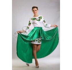 Заготовка для вишивання нитками або бісером жіночого плаття ПЛд-16