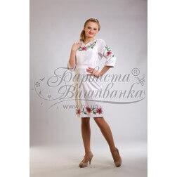 ТМ Барвиста Вишиванка, жіноче плаття ПЛ-2