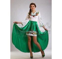 Заготовка для вишивання нитками або бісером жіночого плаття ПЛд-24