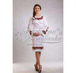 ТМ Барвиста Вишиванка, жіноче плаття ПЛ-3