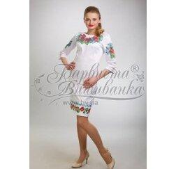 ТМ Барвиста Вишиванка, жіноче плаття ПЛ-4