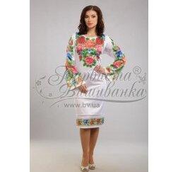 ТМ Барвиста Вишиванка, жіноче плаття ПЛ-5
