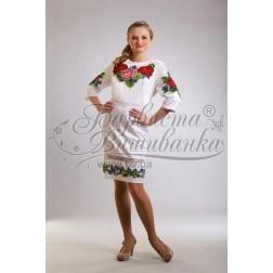 ТМ Барвиста Вишиванка, жіноче плаття ПЛ-7