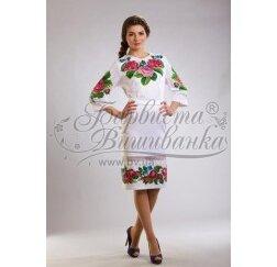 ТМ Барвиста Вишиванка, жіноче плаття ПЛ-9