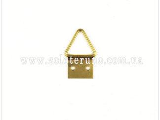 0200-0001-fo1m Трикутний підвіс до рами на цвях, 20*10 мм