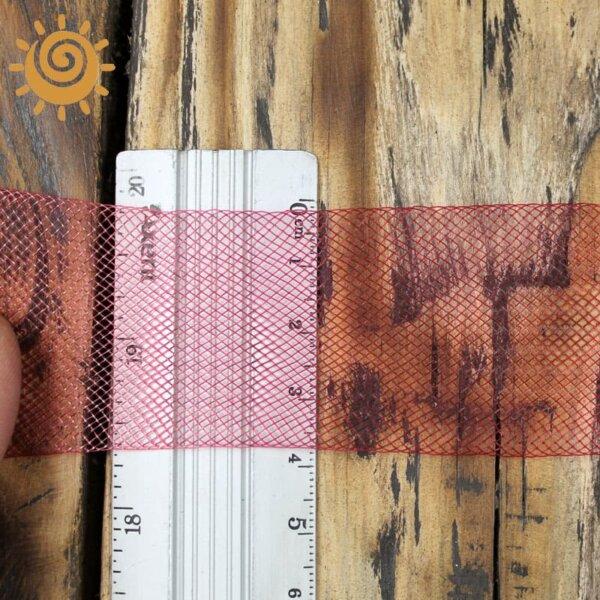 Регілін м`який 35 мм, колір червоний 1