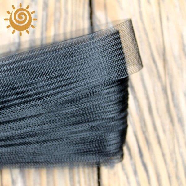 Регілін м`який 30 мм, колір чорний 1
