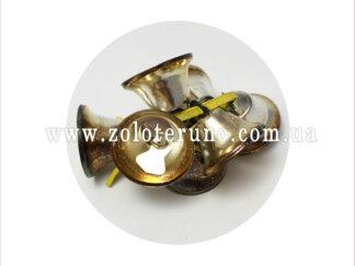 Дзвіночок декоративний, 20х20мм, колір нікель