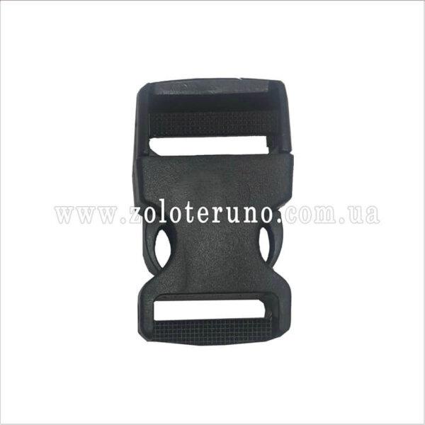 Застібка пластмасова фастекс, колір чорний