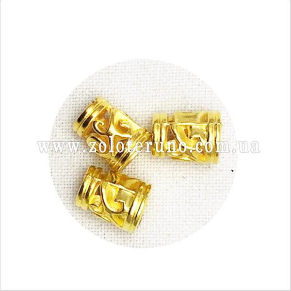 Наконечник пластиковый - Наконечник пластиковий, колір золото