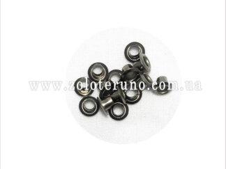 Люверси 10 мм, 0.3 мм товщина металу, нікельовані