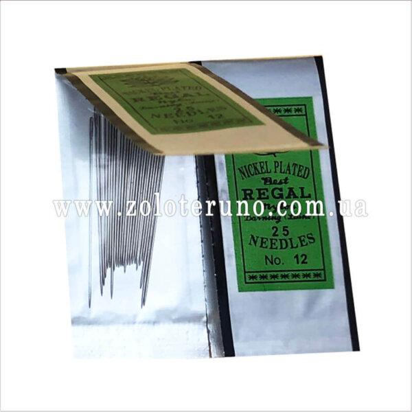 игла для вышивки бисером Regal №12