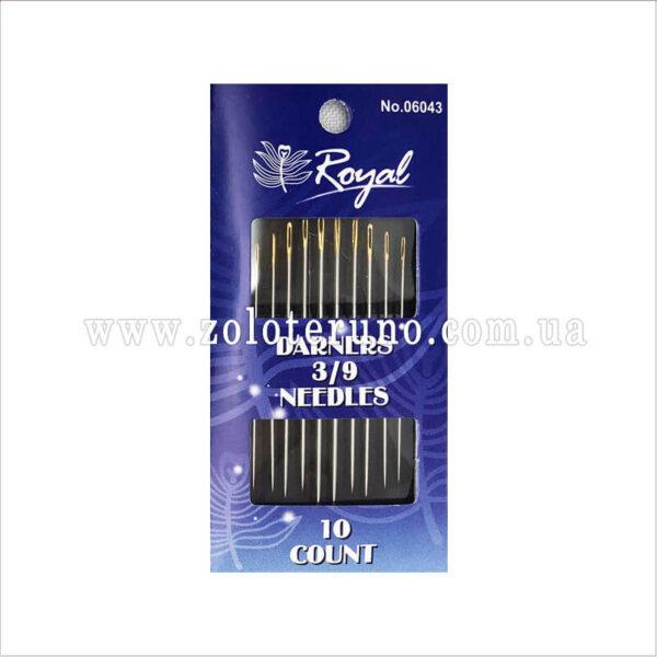 Швейні голки Royal 06045