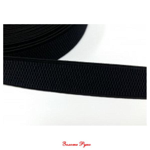 Резинка еластична 50мм, колір чорний