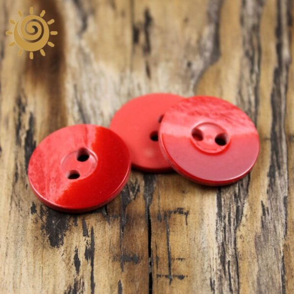 Ґудзик на два удари 24 мм, арт. 015 1 Gydzuk015 1