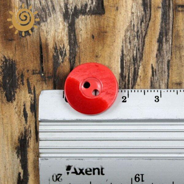 Ґудзик на два удари 18 мм, арт. 015м 1 Gydzuk015m