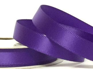 Стрічка атласна 25 мм, колір фіолетовий