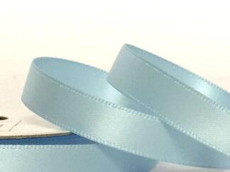 Стрічка атласна 25 мм, колір світло-блакитний