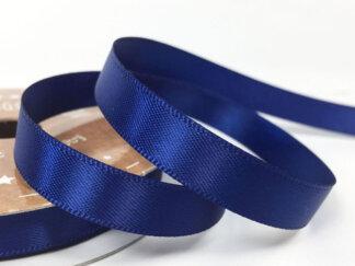 Стрічка атласна 25 мм, колір синій