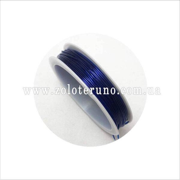 эластичная нить, 0.8 мм, колор фиолетовый