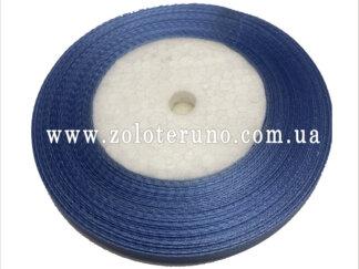 Стрічка атласна 7 мм, колір блакитний
