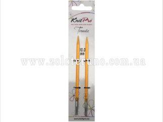 Спиці знімні Trendz (акрилові) KnitPro 11.5 см, 10.00 мм