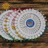 Булавки з пластмасовою круглою головкою, 40 шт, 45 мм 2 14125 1