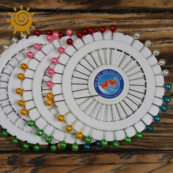 Булавки з пластмасовою круглою головкою, 40 шт, 45 мм 1 14125 1