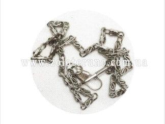 Ланцюжок для сумочки, колір срібний