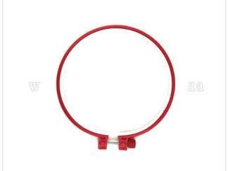 П'яльці для вишивання, пластикові, діаметр 17 см