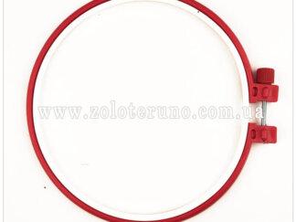 П'яльці для вишивання, пластикові, діаметр 22 см