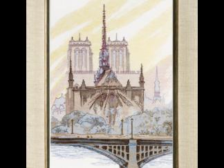 """Набір Crystal Art """"Париж. Нотр-Дам де Парі"""", Чарівна Мить"""