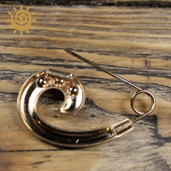 Застібка до легких блуз і сукні, 55 мм, колір золотий 2 IMG 6532