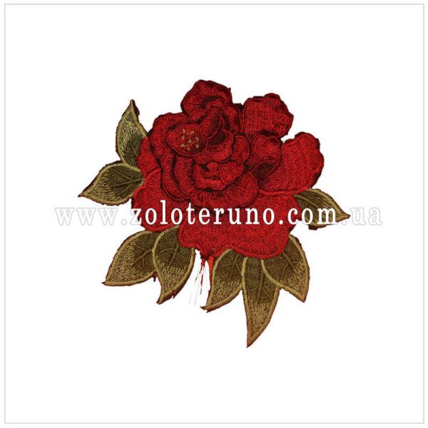 нашивки на одежду детские (аплікація) Троянда 1